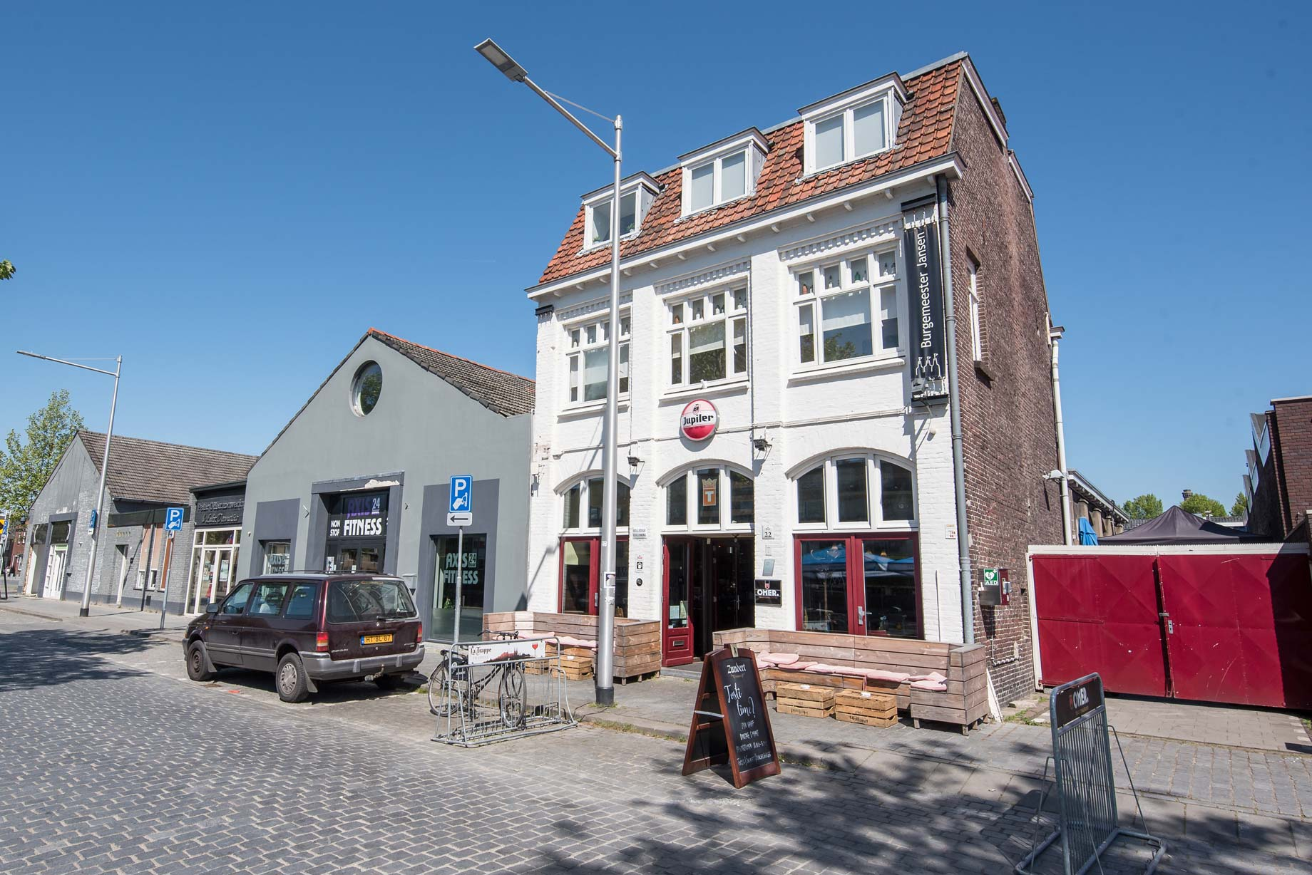013 Straatjes - Burgemeester Jansen - Foto door William van der Voort