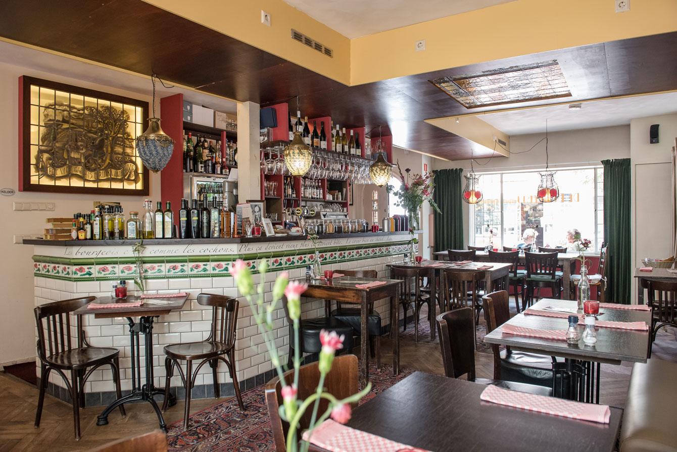 De Burgerij - eten en drinken Tilburg - 013 Straatjes - foto door William van der Voort