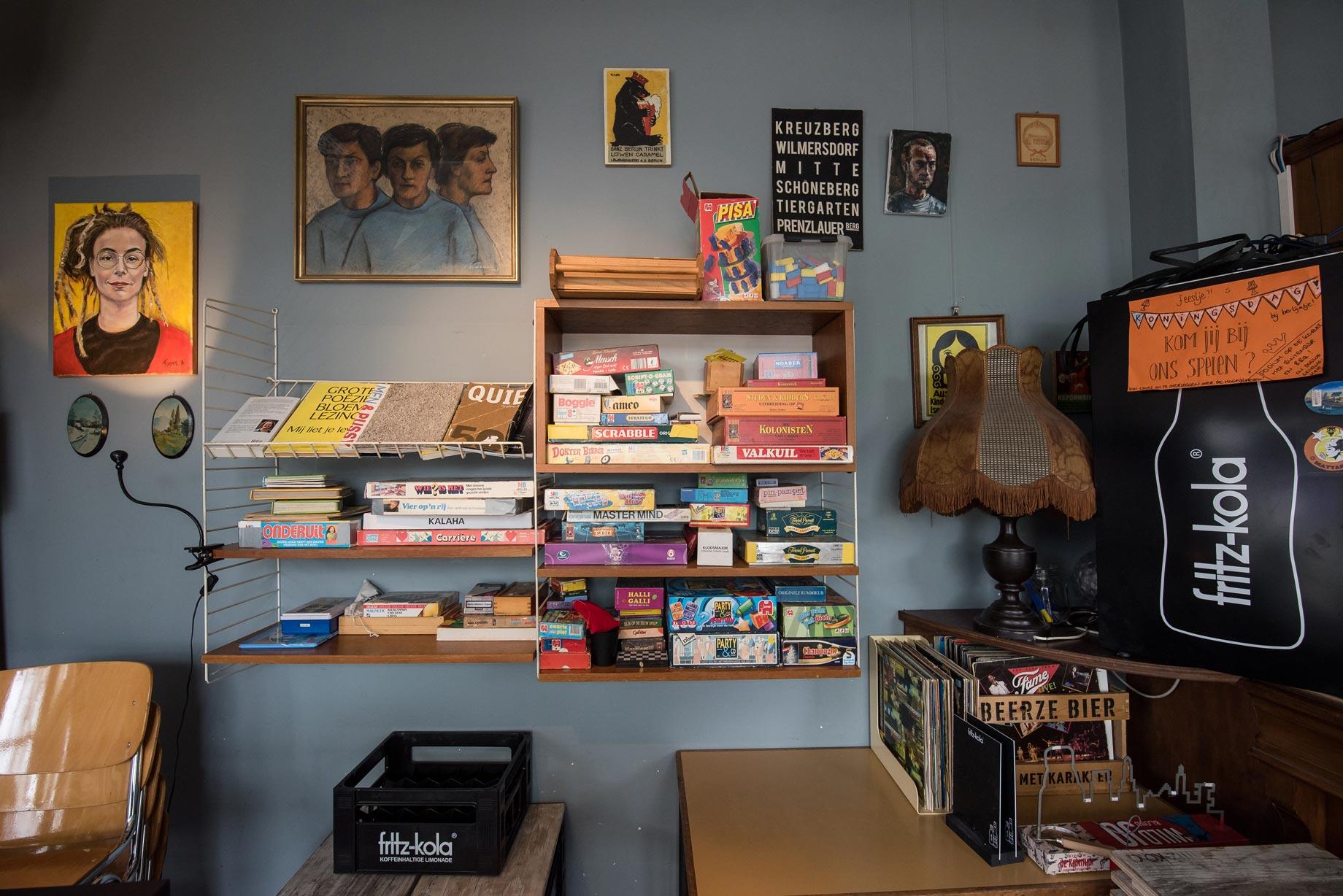 013 Straatjes - Berlijn Café - Foto door William van der Voort