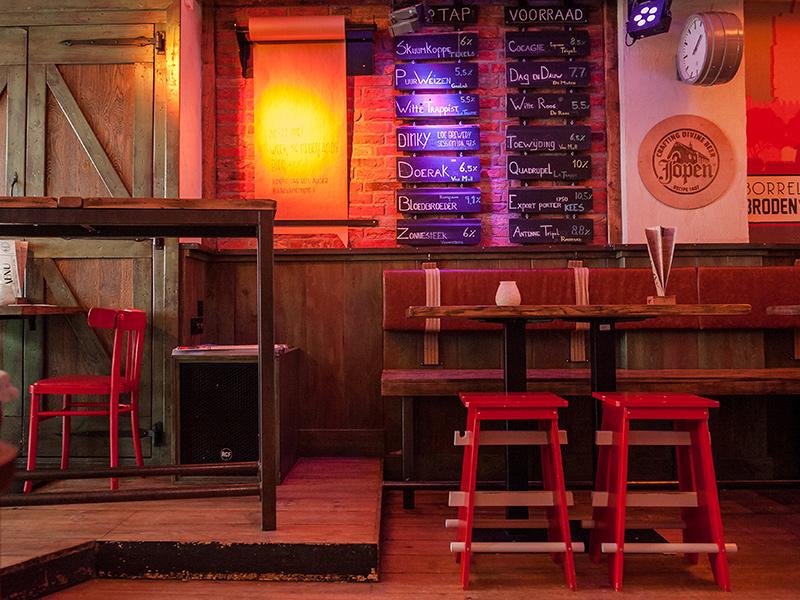 Café Bakker - 013 Straatjes - Uitgaan Tilburg