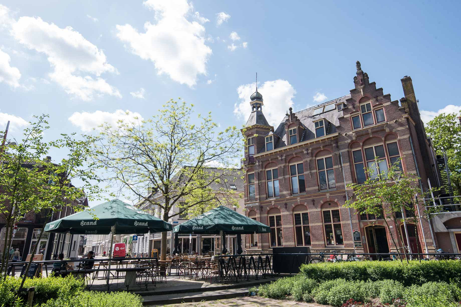 013 Straatjes - Spaarbank - Dwaalgebied Tilburg - Foto door William van der Voort
