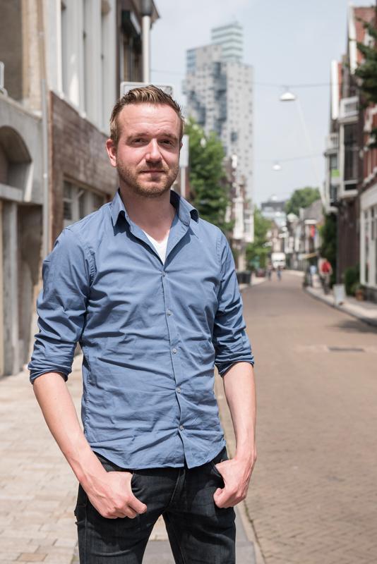 013straatjes interview met Bas Vermeer - Foto door William van der Voort