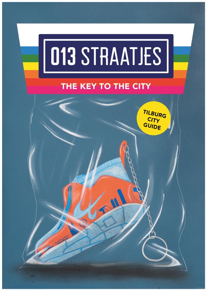 NEW 4th Edition 013 Straatjes tilburg city guide